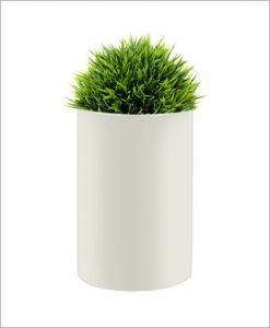Round Shape Fiber Planter 30 inch