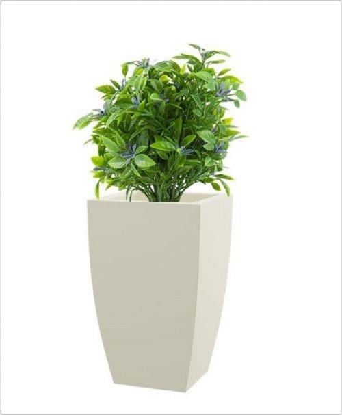 Semi Square Shape Fiber Planter 30 inch