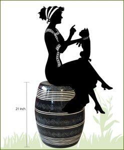 Garden Ceramic Moda (Black)