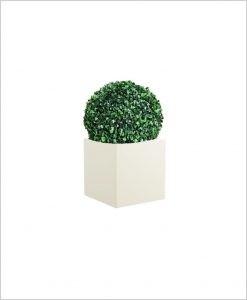 Square Shape Fiber Planter 12 inch