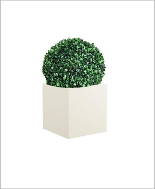 Square Shape Fiber Planter Cube