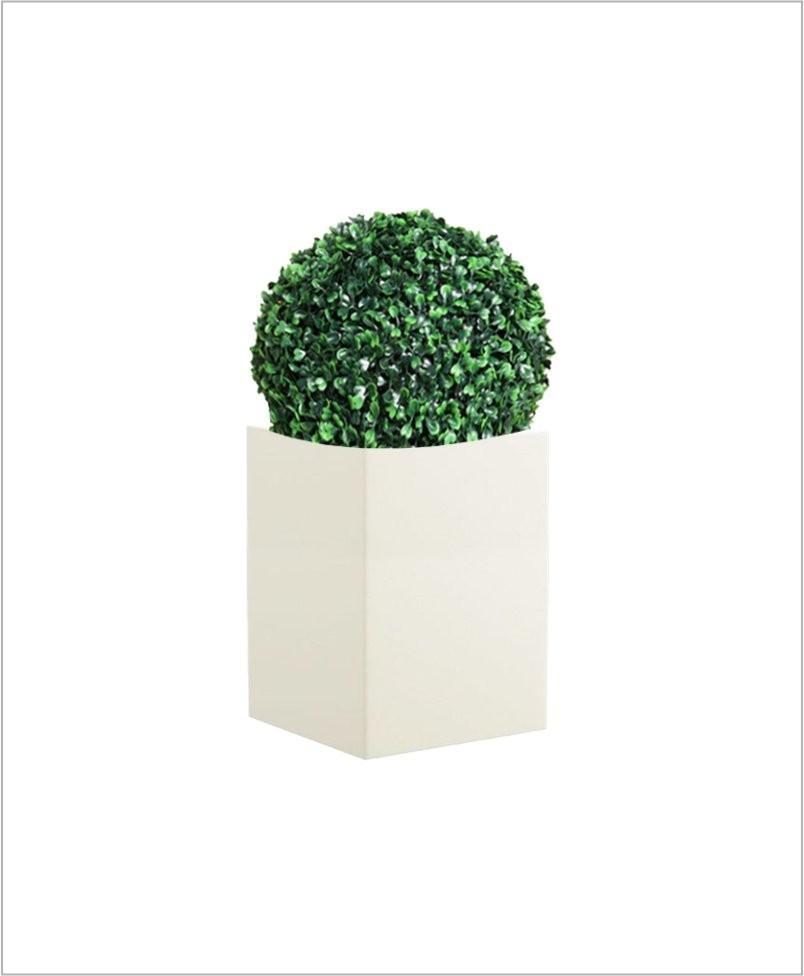 Square Shape Fiber Planter 20 inch