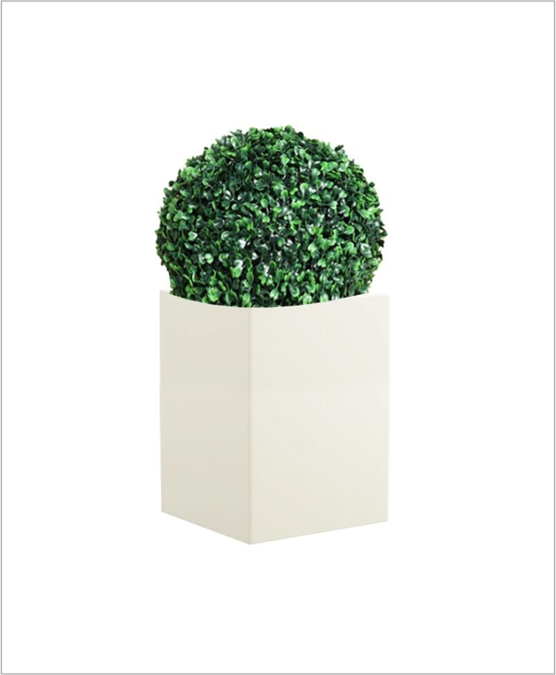Square Shape Fiber Planter 24 inch