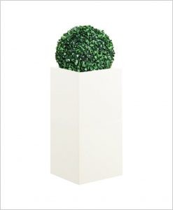 Square Shape Fiber Planter 30 inch