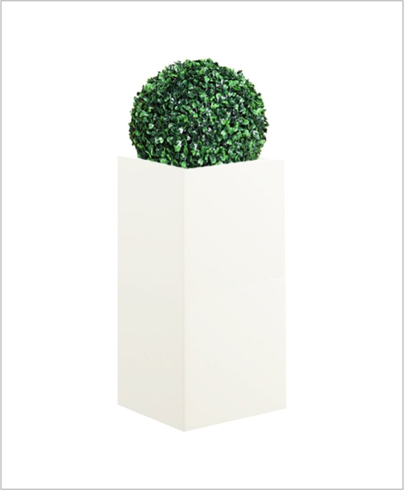 Square Shape Fiber Planter 30 inch