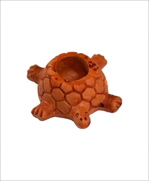 Garden Miniature Terracotta Tortoises (Set of 2 Tortoises)