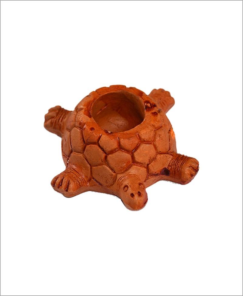 Garden Miniature Terracotta Tortoise (Set of 2 Tortoise)