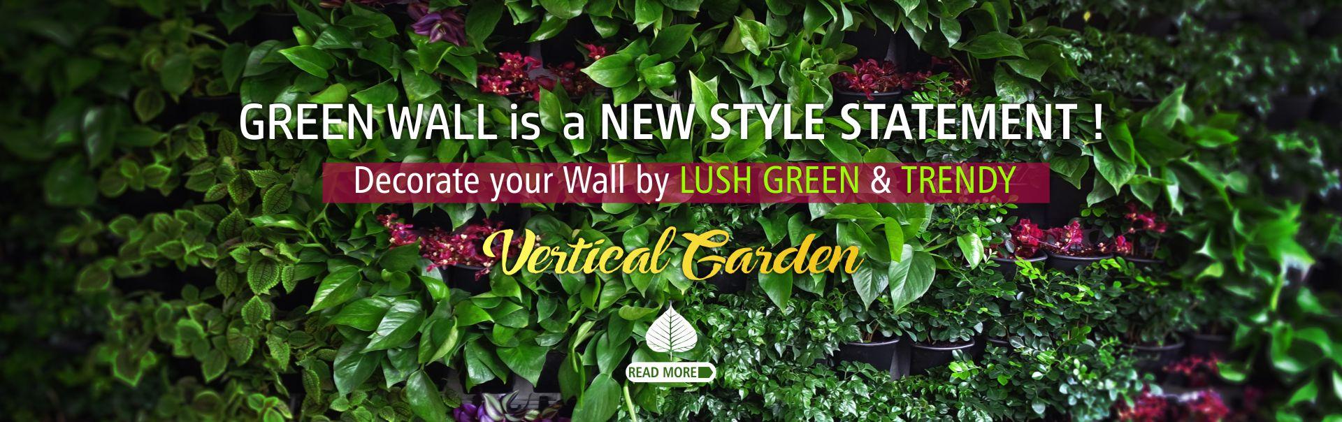 Vertical Garden Green Wall Delhi Gurgaon Noida India