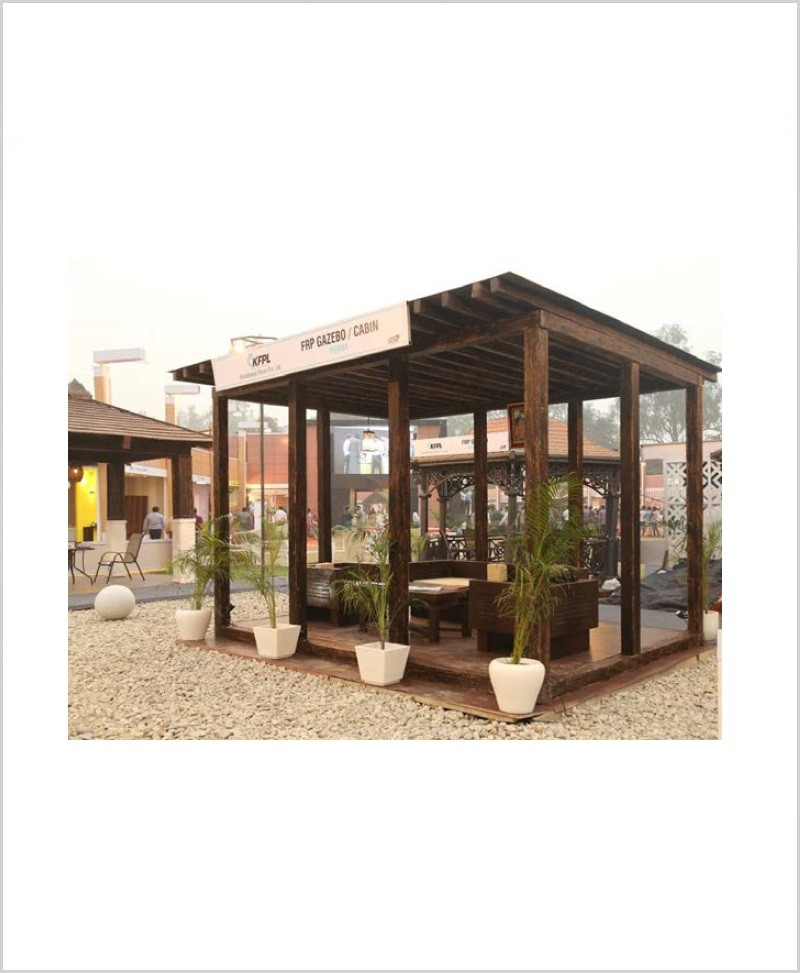 Vienna Gazebo - FRP Garden Gazebos