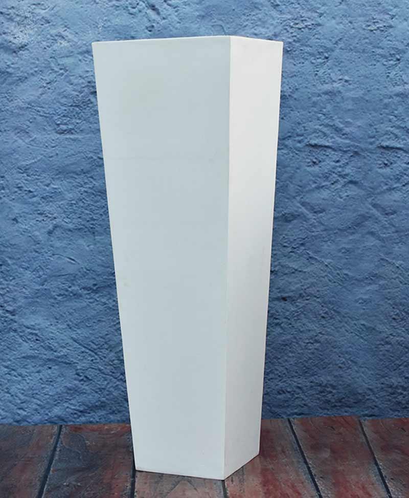 Tapered Shape Planter 48 Inch, Indoor – Outdoor Fiber Planters